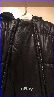 Versace unisex baby snowsuit black