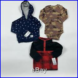 Wholesale Bulk Lot Of 25 Baby Boy Spring Summer Fall Winter Clothes Sz 12 Months