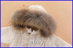 Winter Baby Clothes Set Fur Collar Down Jacket Coat Warm Overalls Baby Snowsuit
