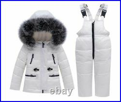 Winter Children Set Baby Clothes Down Jacket Jumpsuit Snowsuit Parka Overcoat