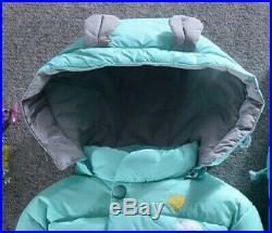 Winter Children Snowsuit Boy Clothing Set Kid Down Jacket Overalls For Girl Baby