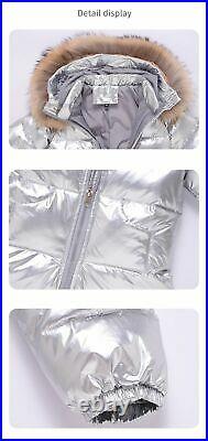 Winter Down Jacket Outerwear Coat Thick Waterproof Snowsuit Clothes Parka Infant