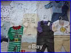 Winter New Used Nice 54 Next Gap Debenhams Bundle Baby Boy Clothes 0/3 Mths (8)