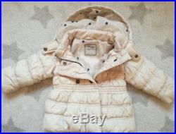 Winter jacket girl 12-18 months 86